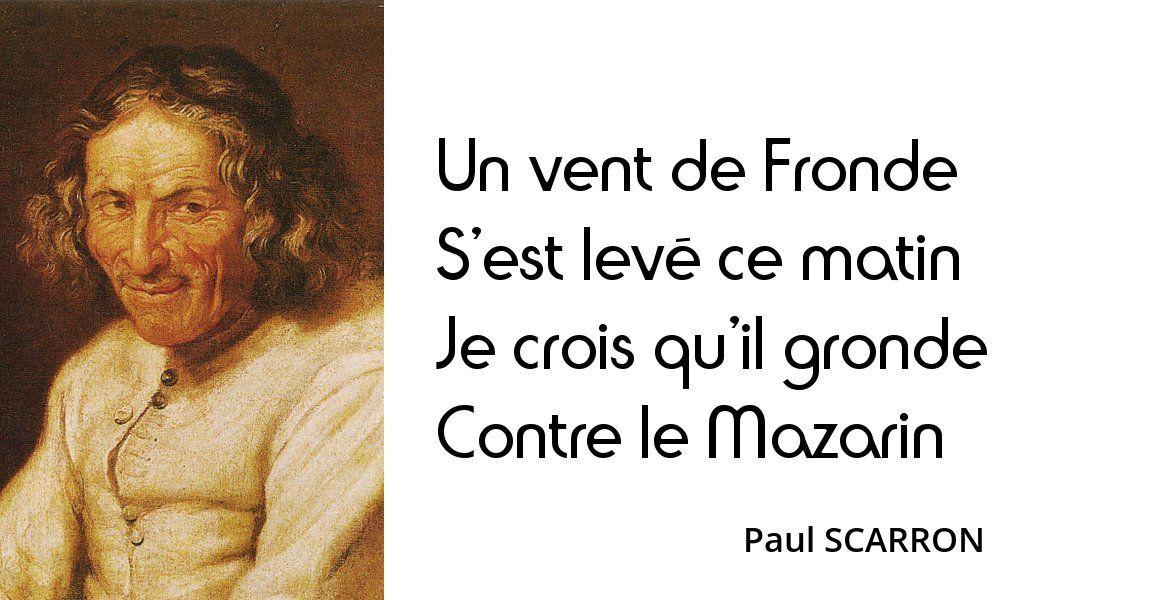 Volume 3 Citation, La fronde, Règne