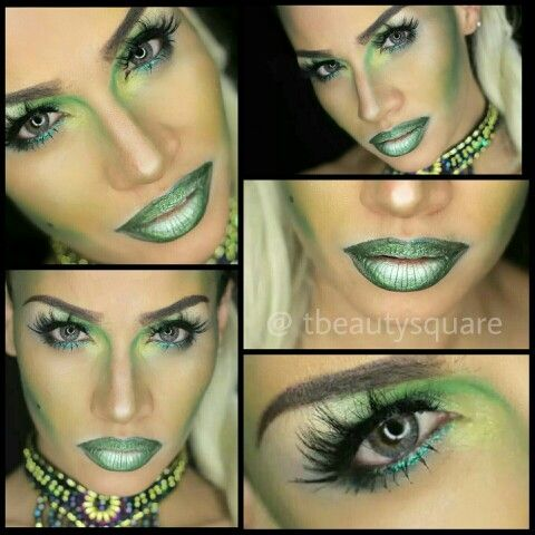 If I were to do Mother Nature\'s makeup this is what I would make ...