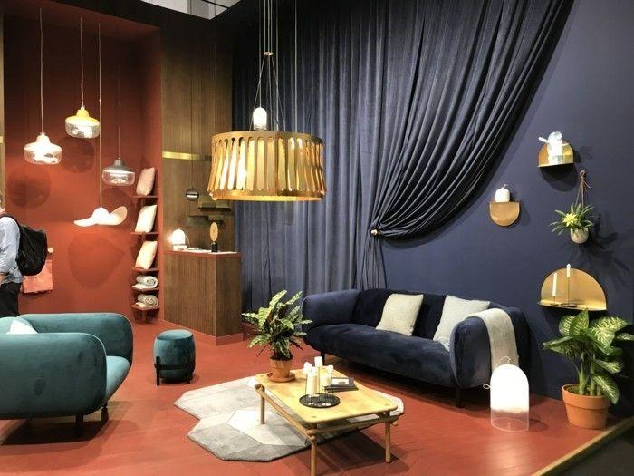 Wohnzimmer lampen und leuchten und was die trends noch