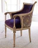 Dahlia purple chair