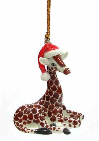 how cute is this ornament - How Cute Is This Ornament Giraffes Pinterest Giraffe