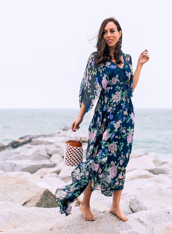 Windblown Boho Look In A Floral Maxi Dress Sydne Style Maxi Dress Boho Floral Maxi Dress Floral Maxi Dress [ 2284 x 1680 Pixel ]