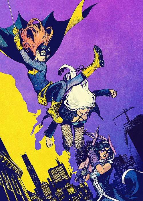 Batgirl & The Birds of Prey #1 Variant - Kamome Shirahama