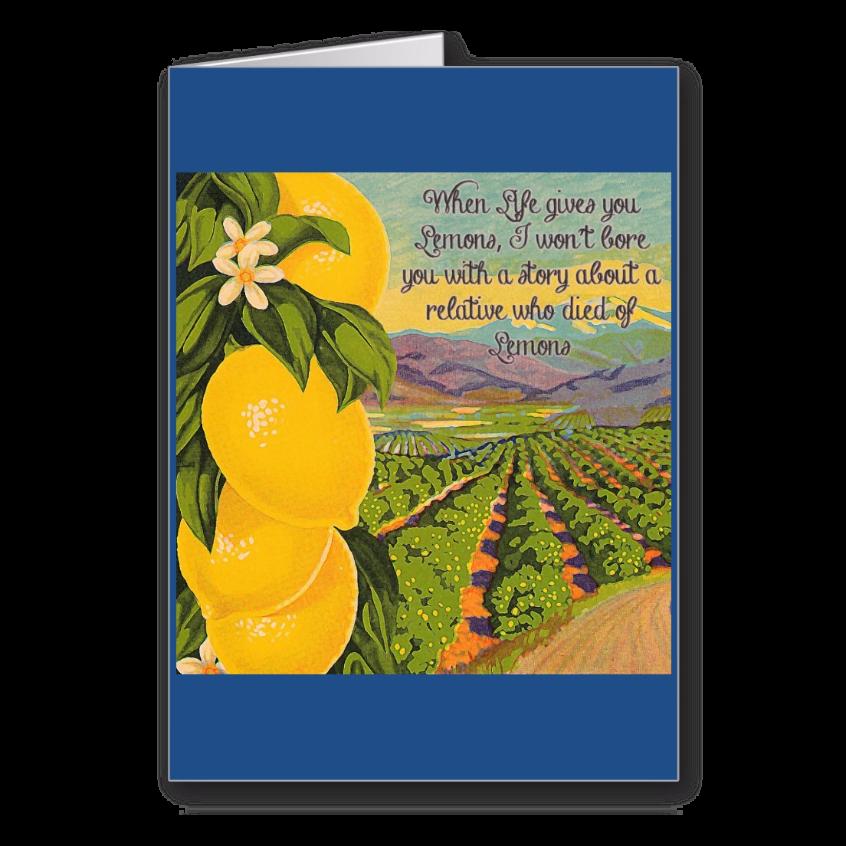 When life gives you lemons empathy greeting card pinterest when life gives you lemons empathy greeting card when life gives you lemons i m4hsunfo