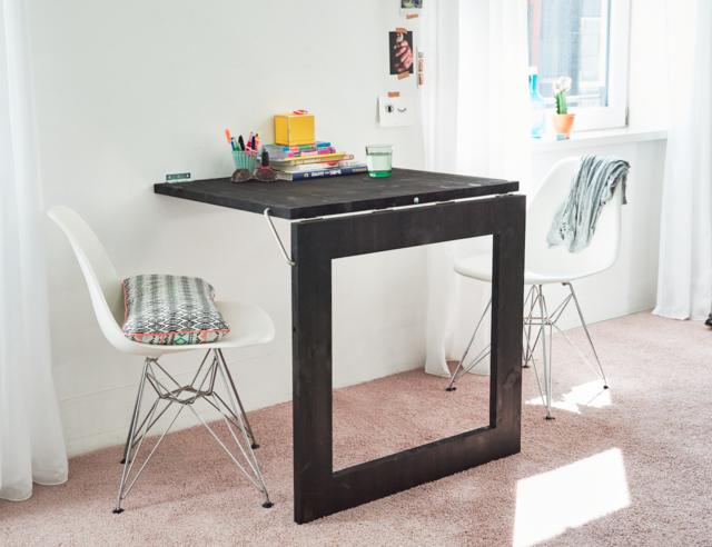 Handige Inklapbare Tafel : Een opklapbare spiegel tafel maken interieur