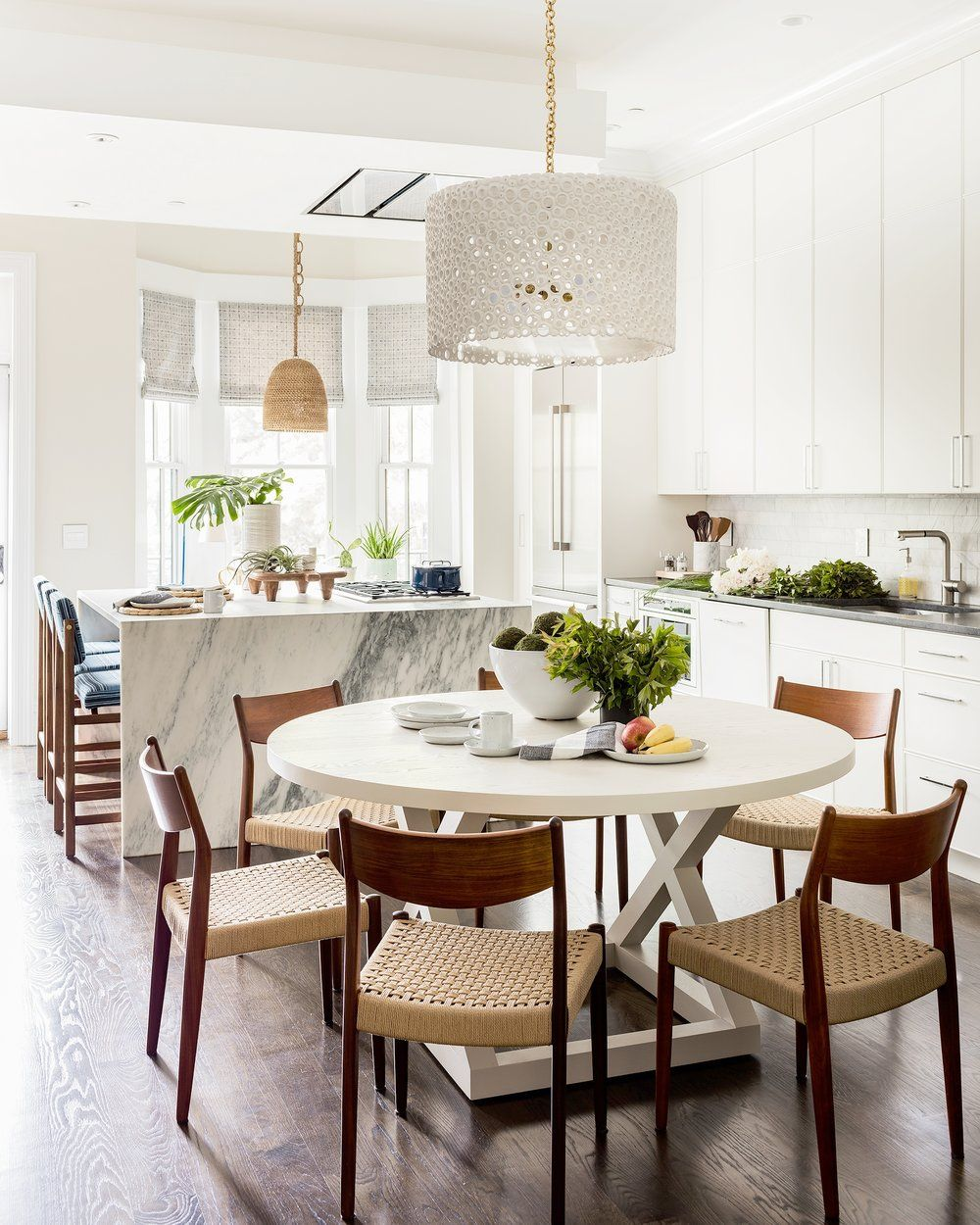 Kitchen + dining area all in one. So beautiful Hudson Interior ...