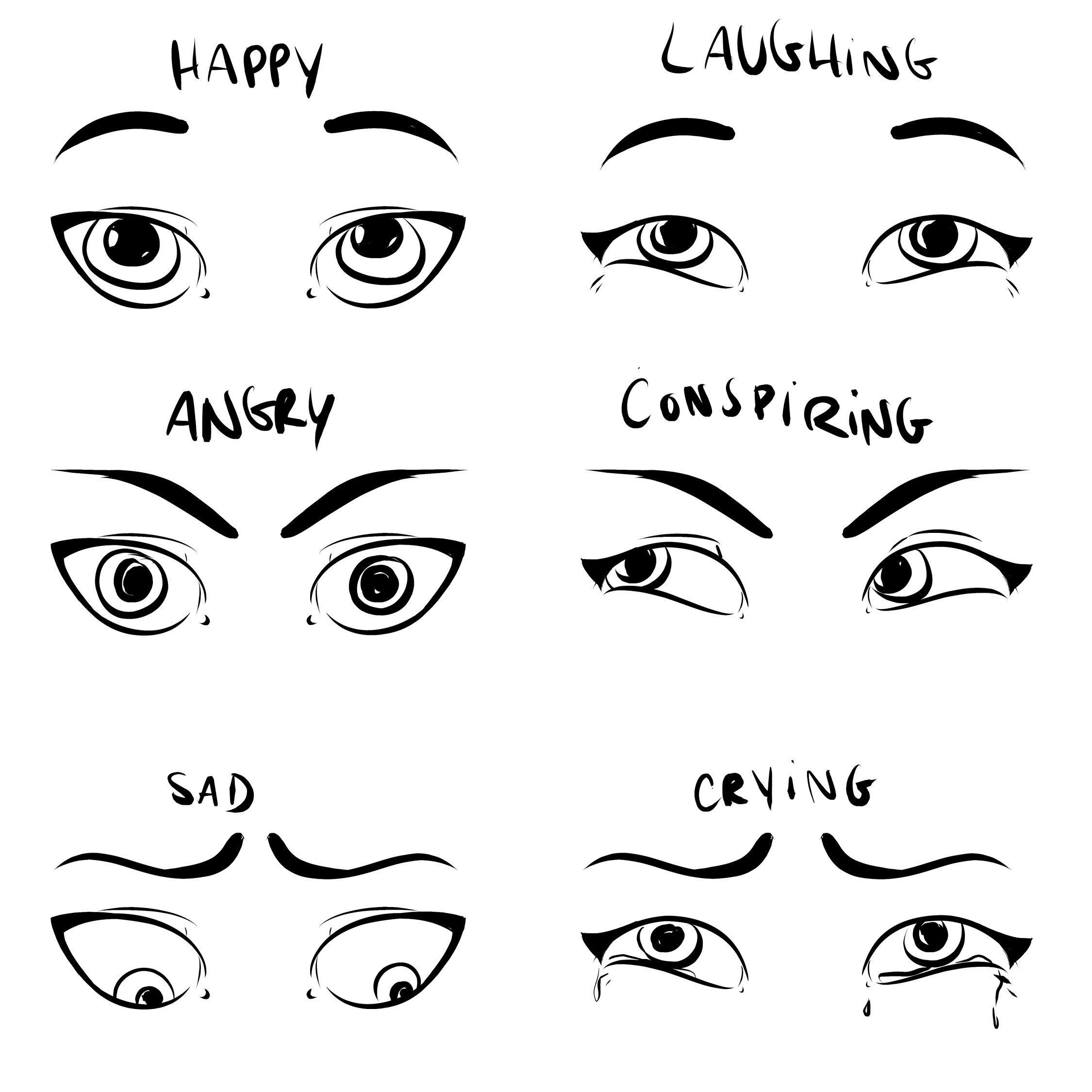 Draw Facial Expressions