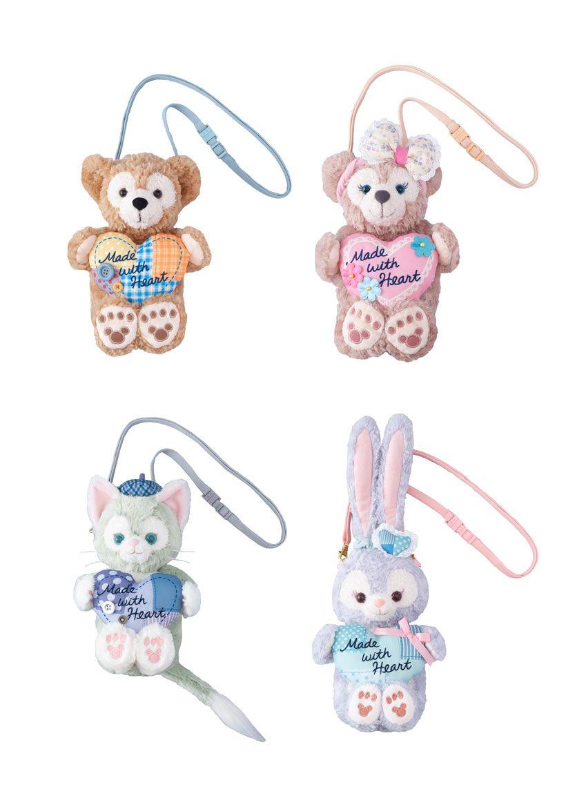 f3b3b2b7e7b6 1Pcs Duffy New Friend Stella Lou Stella Painter Cartoon Toys Plush Bag  Purses Coin Purses 17 33Cm