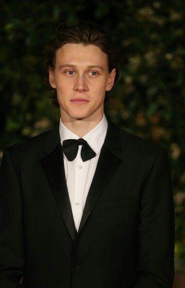 George MacKay attends the EE British Academy Film Awards