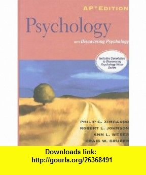 Psychology ap edition with discovering psychology 9780132462808 psychology ap edition with discovering psychology 9780132462808 philip g zimbardo robert l fandeluxe Choice Image