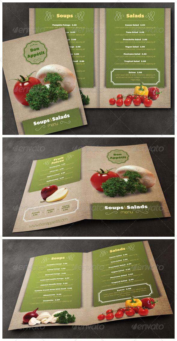Healthy Food Menu Template  Food Menu Template Menu Templates