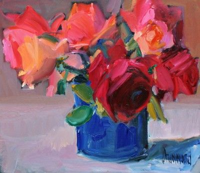 Marion Drummond Hybrid Teas Gb Art Pinterest Art Painting