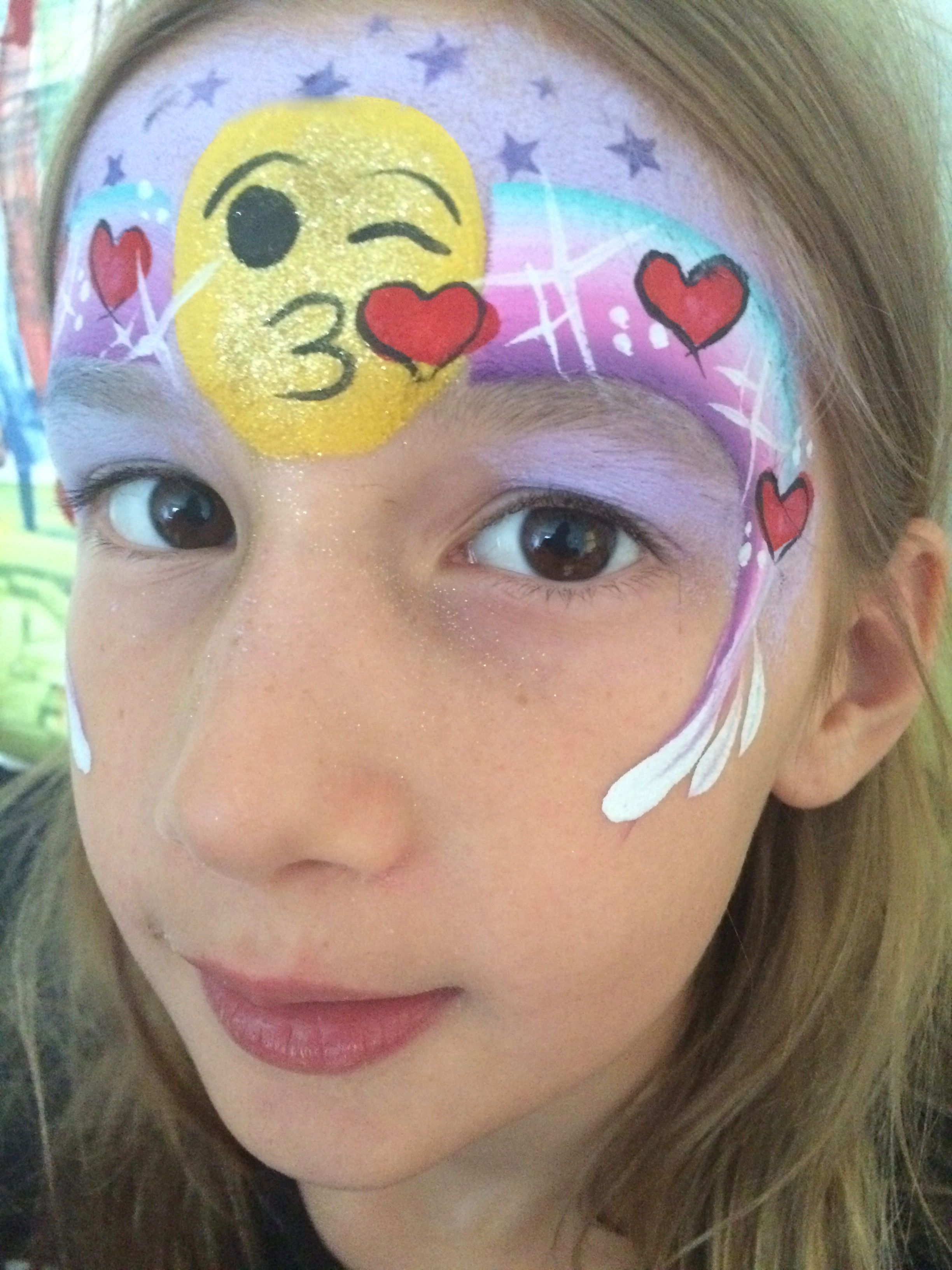 Uncategorized Face Painting Easy emoji face paint quick easy facepaint pinterest easy