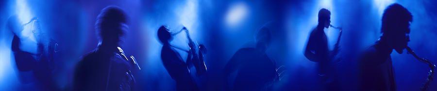 Montage of Sax Player ©Mark Wagoner