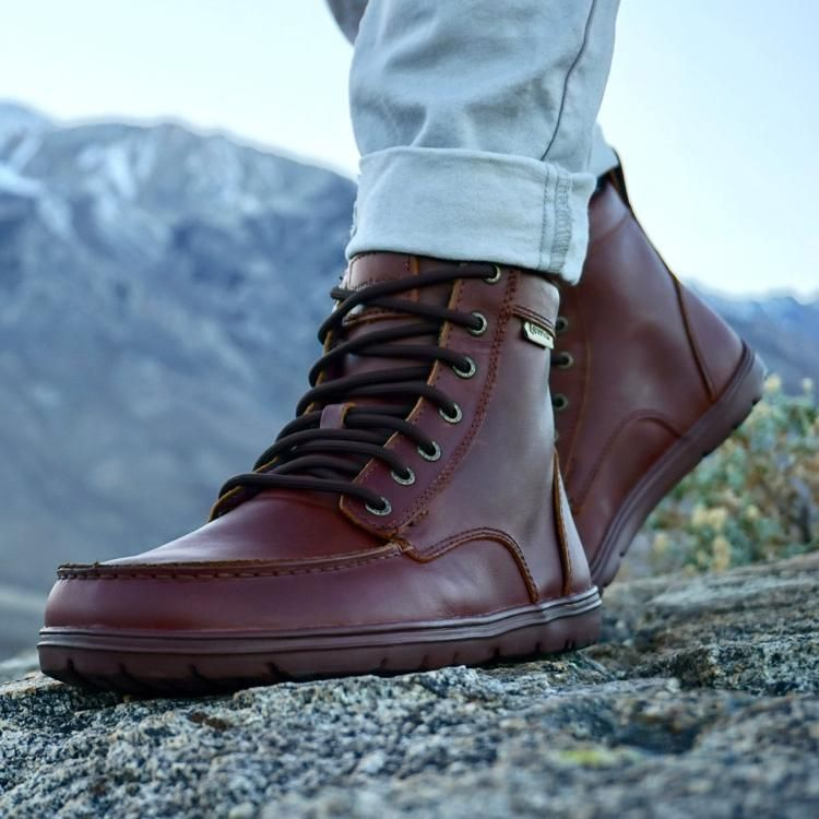 1e748f55499 Lems Boulder Boot Leather Russet in 2019 | Style | Boots, Leather ...