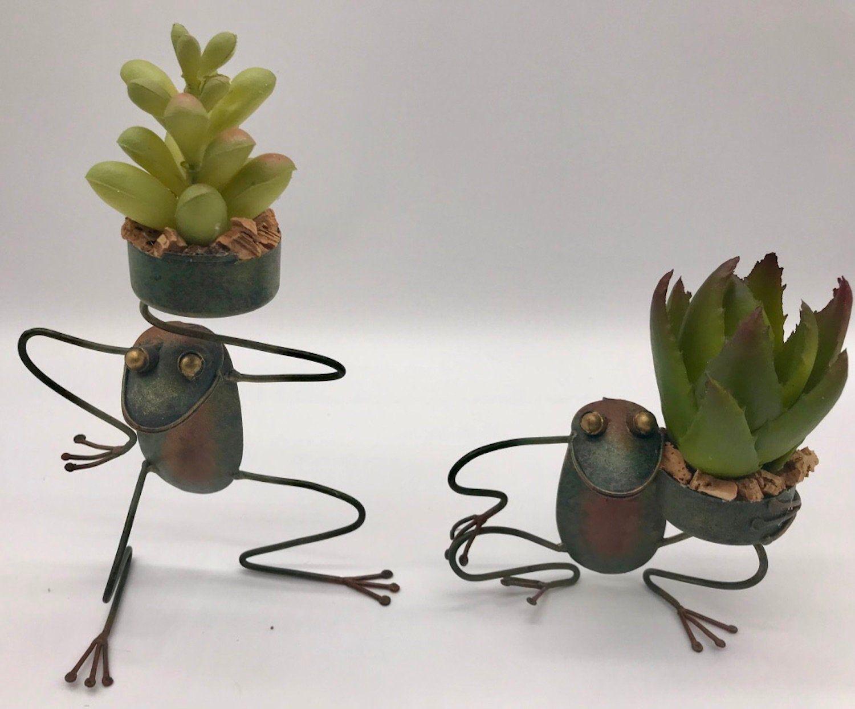 Faux Plants Bookshelf