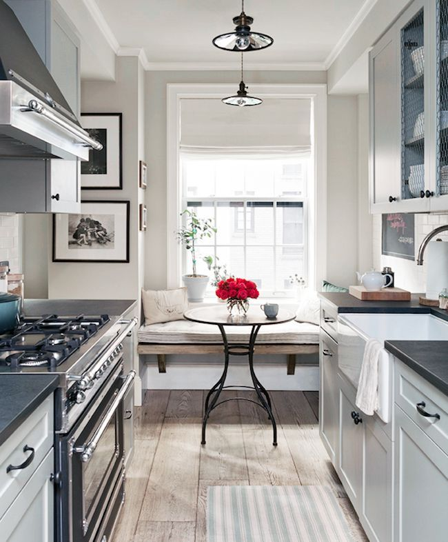 Modern Farmhouse Done Right | Galley kitchen design, Galley ... on