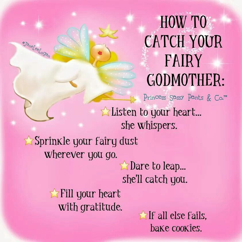 How To Catch Your Fairy Godmother Sassy Pants Godmother Quotes