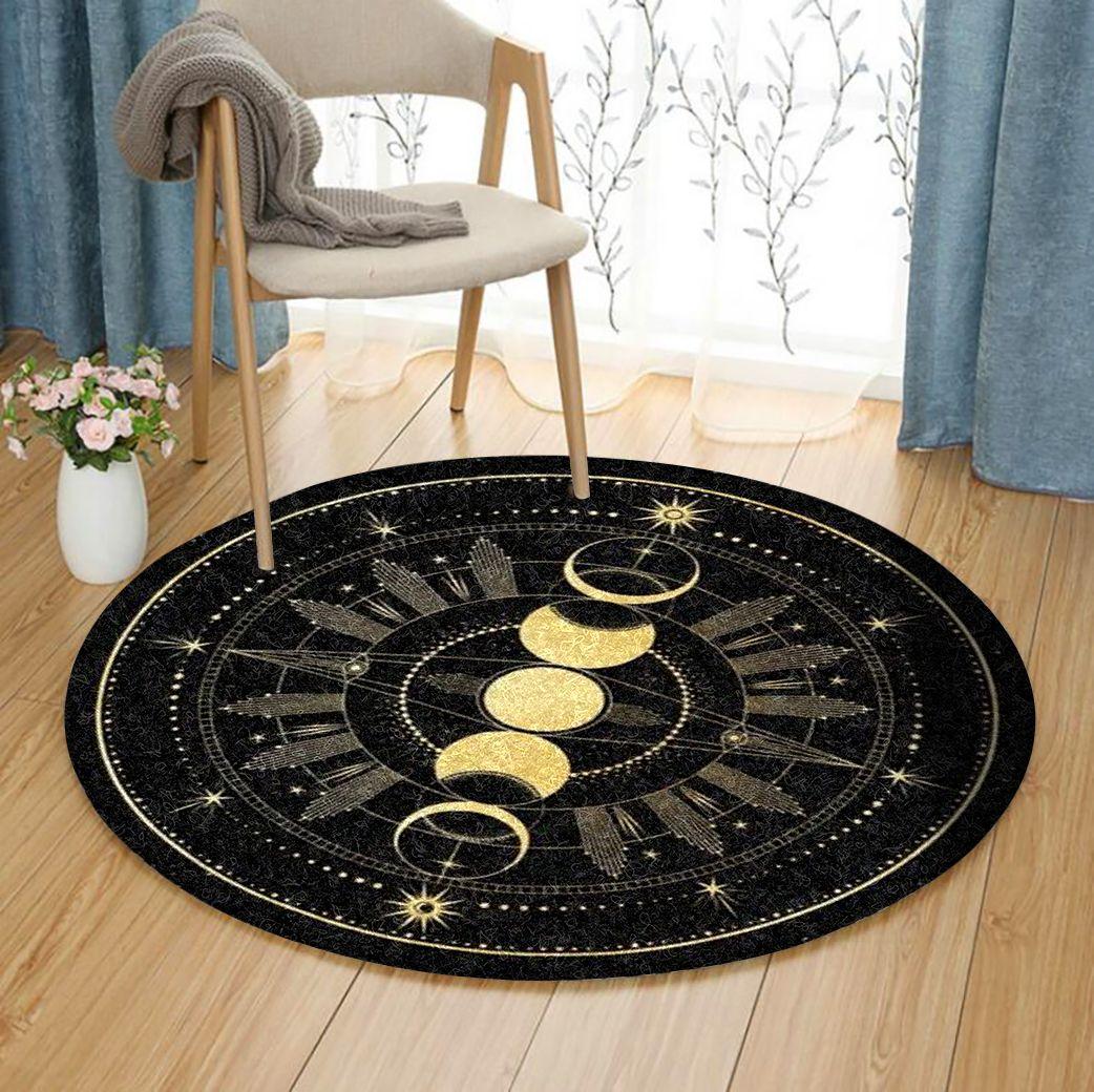 Sun And Moon Round Rug Azcozy Com Round Carpets Round Rugs Rugs