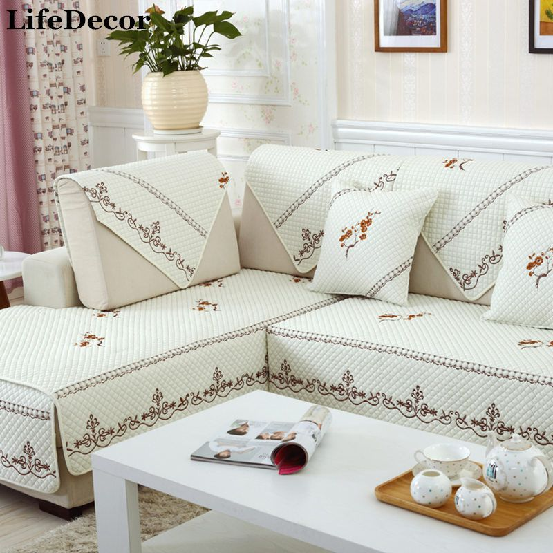 Sofa Cover Set White Sectional Slip Cover Sofas Modern Magical
