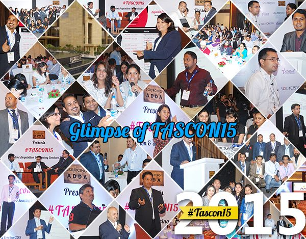 Here's the Glimpse of #TASCON15. Now this time #TASCON16 is bigger, better & insightful...So book your seat now!!! http://tascon.in #TalentAcquisition #Sourcer