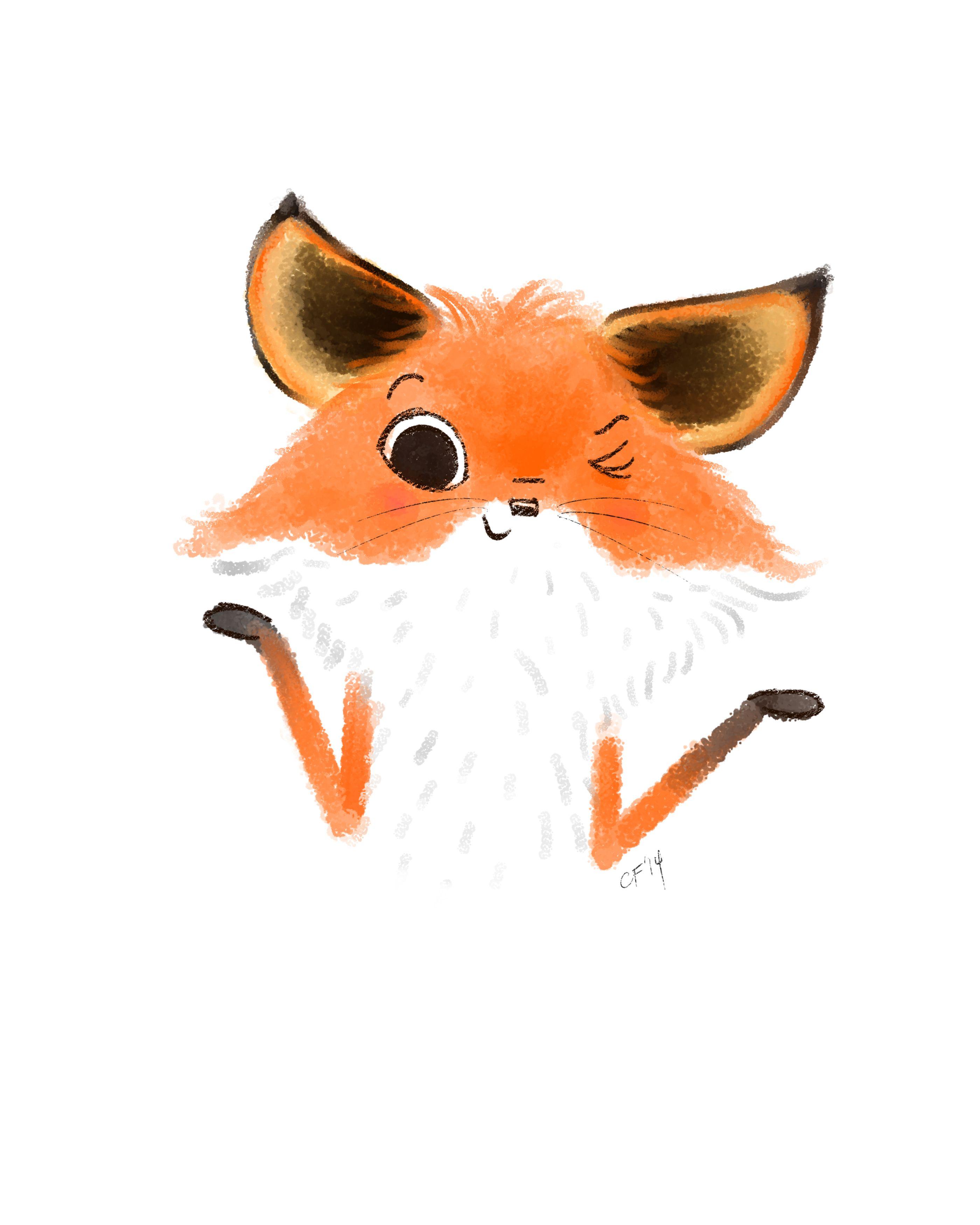 christina forshay illustration sly fox art i love