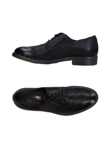 MJUS RBL Men's Lace-up shoe Black 8 US
