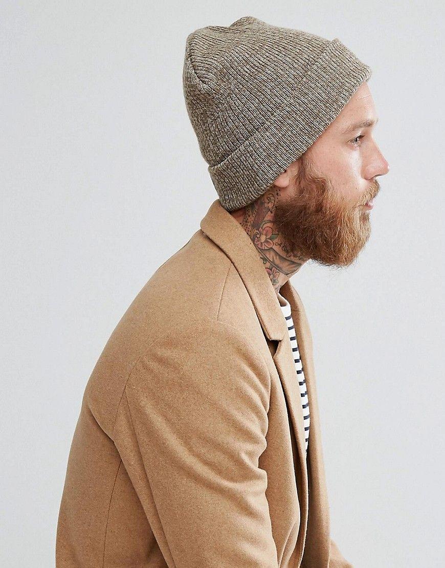 0e591c639e5ee Boardmans Ryan Beanie Hat - Beige Fila Vintage