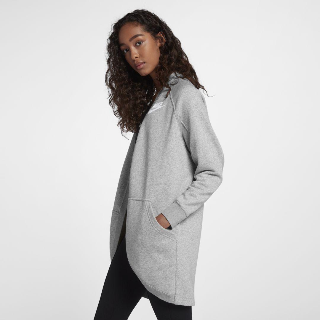 ad536f0b8fb Nike Sportswear Rally Women s Cardigan Size XL (Grey Heather ...