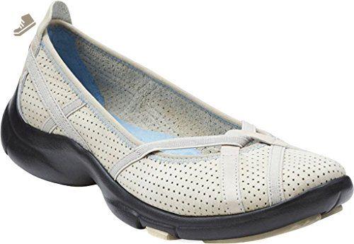 7e272fee7d29b Clarks Women's P-Berry Flat,Stone,US 7 M - Clarks sneakers for women ...