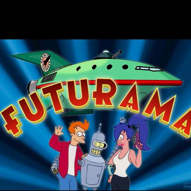 Futurama Fry Bender And Leela Futurama Futurama Characters