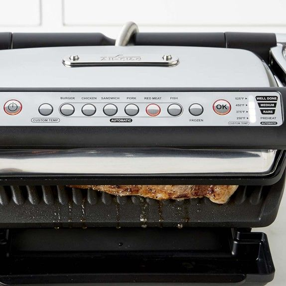 All Clad Electric Indoor Grill With Autosense