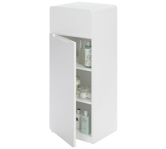 Buy Hygena Curve Bathroom Floor Unit White At Argos Co Uk Visit