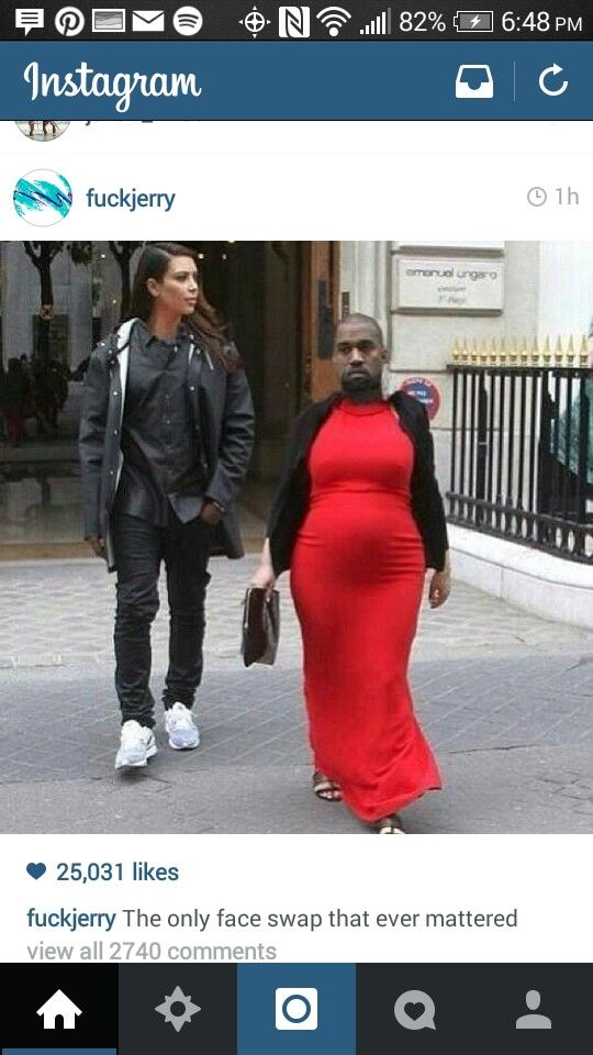Pin By Teresa Orosa On Made Me Giggle Funny Face Swap Face Swaps Kanye West And Kim