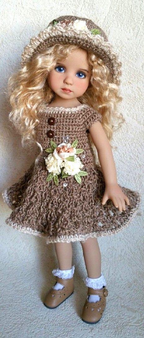Outfit for Little Darling | Ropa muñecas | Pinterest | Puppen und Häkeln