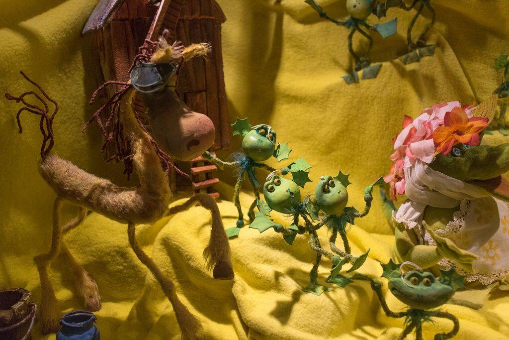 Ddr Puppentrickfiguren Aus Die Fliegende Windmuhle Ddr
