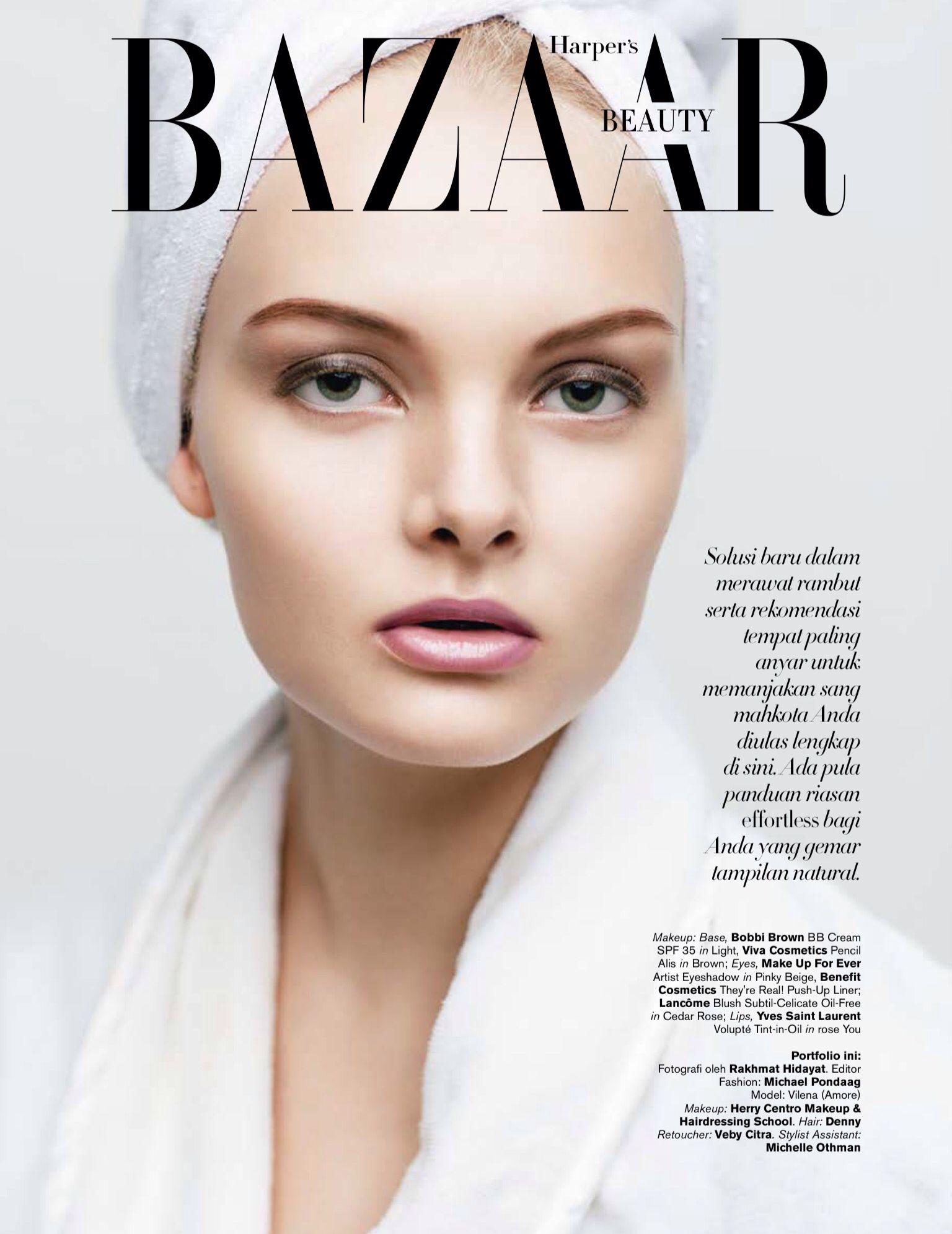 As Head Stylist Assistant Harper S Bazaar Beauty Opening Feb 2015 Harpers Bazaar Covers Harpers Bazaar Bazaar