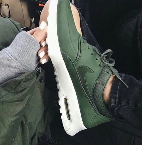 Nike air max- Hunter green | Nike shoes