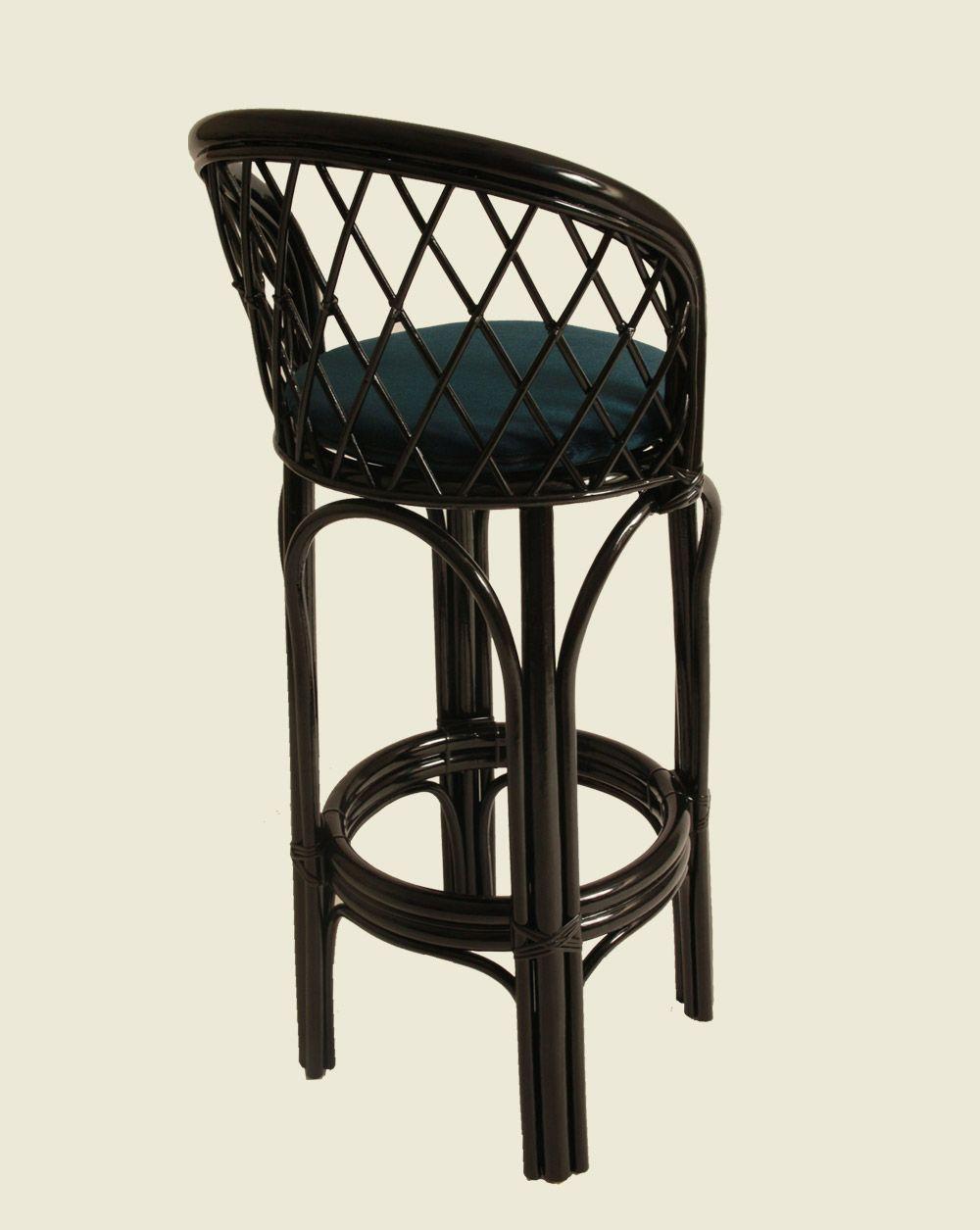 Laquered Panier Highchair Black Maison Drucker Stool High Chair Decor