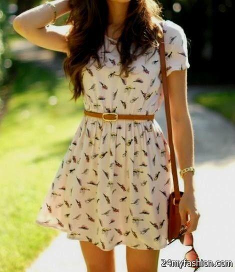 Fashion Summer Dress Outfits Tumblr