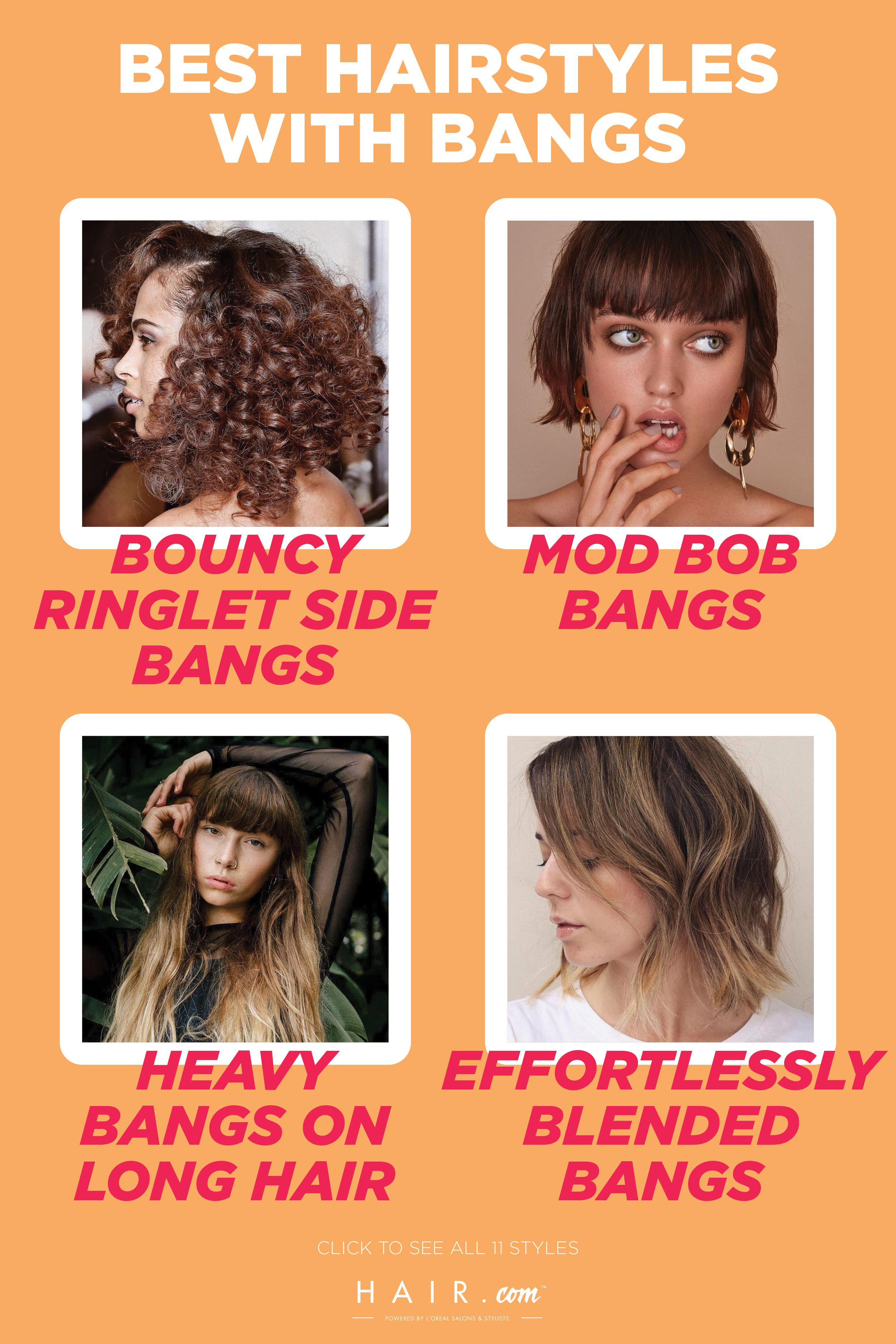 While Bangs Used To Be A Hotly Debated Topic Styling Your Fringe Has Now Become The Hottest Trend In The Hai Cool Hairstyles Hairstyles With Bangs Hair Styles