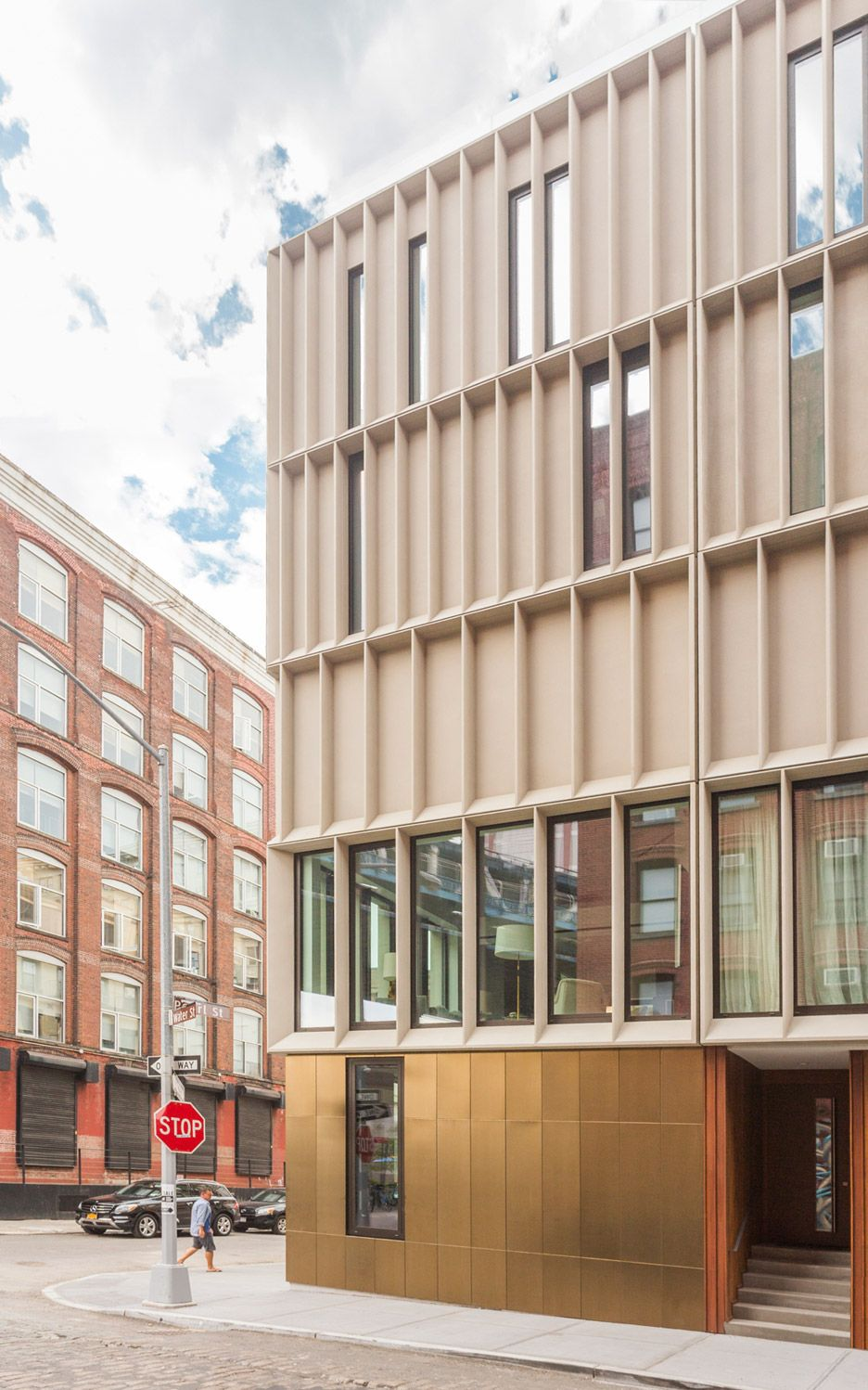 Dumbo Townhouses By Alloy In Brooklyn Facade Architecture
