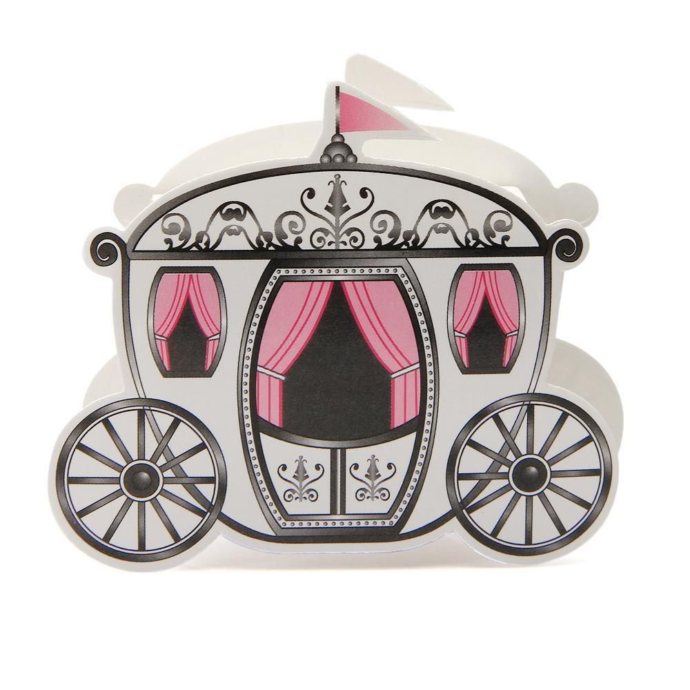150pcs Pumpkin Carriage Candy Sweet Chocolate Boxes Wedding Party Favor #BaptismChristening