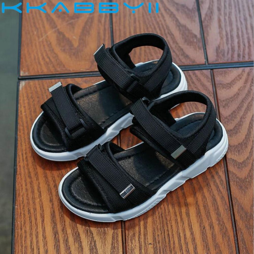 Kids Boys Girls Summer Hollow Sandals Outdoor Sport Shoes Beach Hiking Shoes