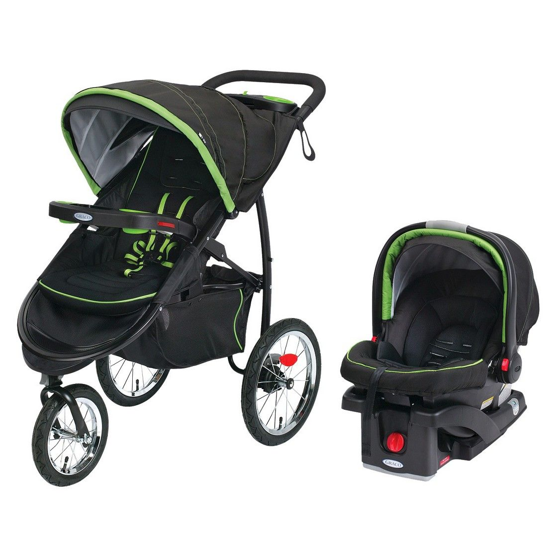 Graco FastAction Jogger Click Connect XT Travel System