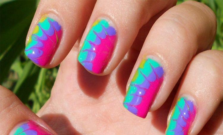 base coloridas unas gel | Belleza | Pinterest | Decoración de uñas ...