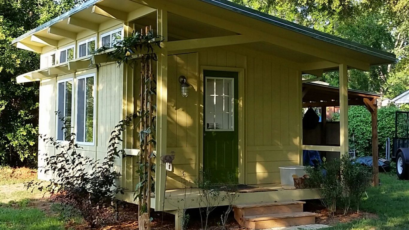 Mor Haus Home Vacation cottage, Exterior design
