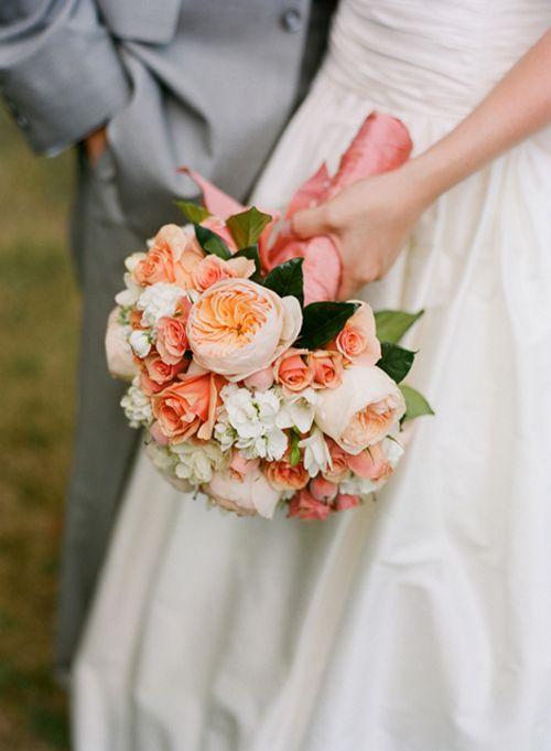 Wedding Flowers Inspiration Juliet David Austin Roses Peach Bouquet Wedding Flower Inspiration Peach Wedding