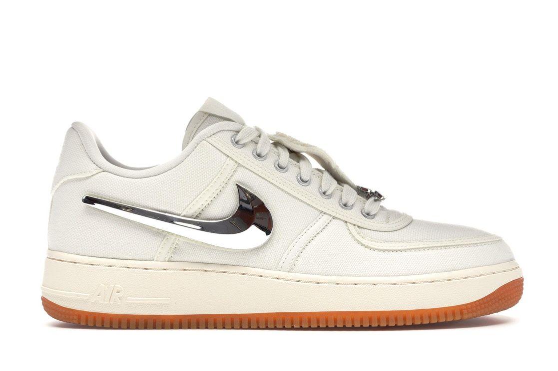 Nike Air Force 1 Low Travis Scott Sail Sneakers