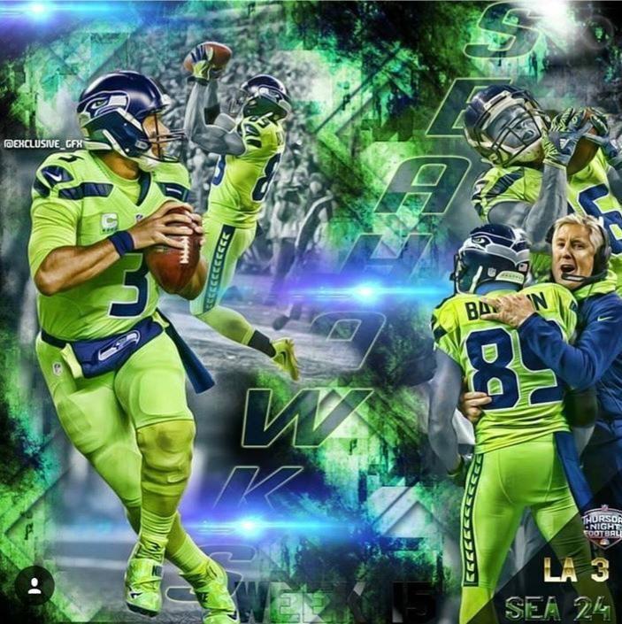 sports shoes d92a6 ec346 Go Hawks!!! COLOR RUSH!! | Seattle Seahawks | Seahawks team ...
